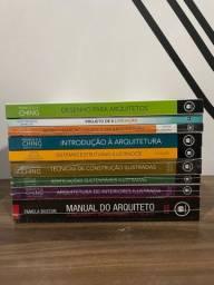 Coleção de livros Arquitetura