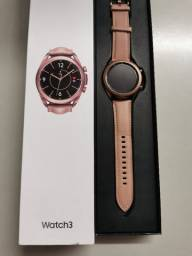 Samsung watch3 Bronze Lte 41mm Analiso Trocas