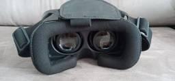 Óculos De Realidade Virtual 3D V-Box Branco + Controle