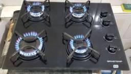 Fogão cooktop 4 bocas brastemp ative