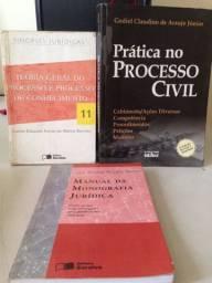 Doação de livros e apostilas de Direito