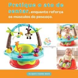 Título do anúncio: Cadeira de alimentação com centro de atividades