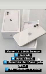 Título do anúncio: iPhone 11 128 GB zero lacrado