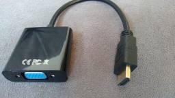 Título do anúncio: Adaptador HDMI para VGA