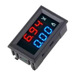 Voltímetro e Amperímetro Digital DC.