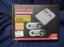 Título do anúncio: Mini Video Game com 400 jogos c/ 2 controles - Jogos do Nintendo 8 Bits