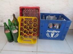 BARBADA - Caixas e garrafas.