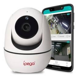 Câmera Ip Wifi Visão Noturna Alerta Celular Alarme Hd Ipega - Loja Natan Abreu