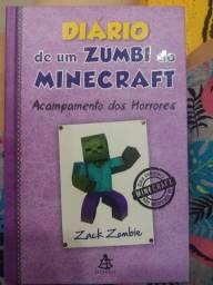 Livro Diário de um Zumbi do minecraft, Acampamento dos Horrores