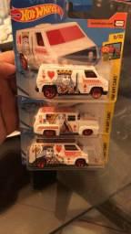 Hot wheels vans Hw art cars cartas