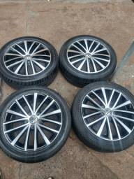 Roda original Jetta tsi com pneus