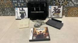 Nintendo 3DS Cosmo Black + 3 jogos originais.
