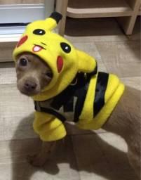 Macacão Pet pequeno Picachu