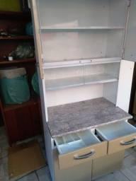 Armário de aço cozinha