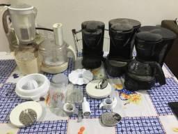 Utensílios de cozinha com avarias