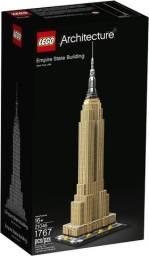 Lego Architecture Empire State Building 21046 com 1767 peças. Novo Original Lacrado