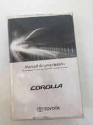 Título do anúncio: Manual Proprietário Toyota Corolla 2014/2017