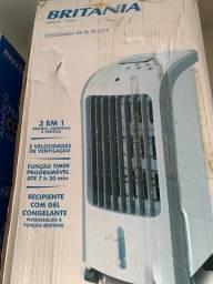 Climatizador de Ar Britânia 3em1 Resfria,Umidifica e Ventila 127v (novo)