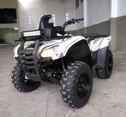 Quadriciclo Honda FourTrax 2012 4x4 com acessórios