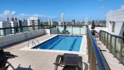 Apartamento tipo flat no Edf. Morada Capibaribe, Madalena, Recife