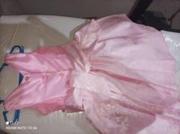 Título do anúncio: Vestido menina 01 a 2 anos