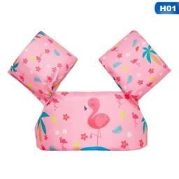 Colete Salva Vidas Infantil Bóia Braço - Flamingo BABY
