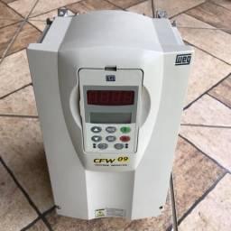Inversor de frequência WEG CFW 09 220v 28A 10cv