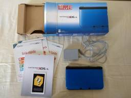 Nintendo 3DS XL azul usado + Pokemon Sun