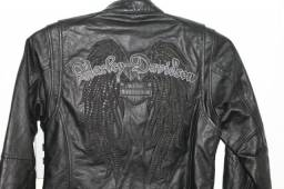 Jaqueta Harley Davidson Feminina Tam. XS Couro