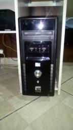 CPU Intel, LGA 1155, HD500Gb, 4Gb memória DDR3, P. de vídeo 1Gb , webcam, leia vale a pena