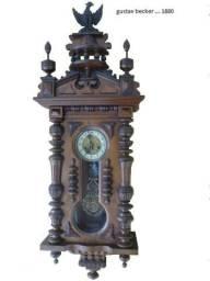 Relógio de parede Gustav Becker