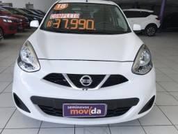 Nissan March 1.0 s ipva 2019 pago - 2018