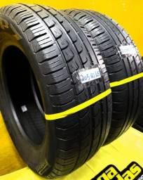 02 Pneus 205 / 60 / 15 Pirelli P7 Seminovos VW Saveiro Cross Tropper Pepper EcoSport, usado comprar usado  São Paulo