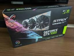 NVidia Asus GTX 1060 6gb Rog Strix