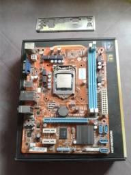 PLACA MAE 1155 + PROCESSADOR i7 -3770 de 3.4 ghz