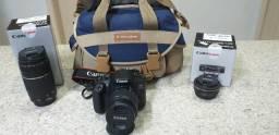 Camera e Lentes Canon