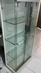 Expositor - vídro - balcão - armário expositor