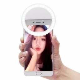 Luz De Selfie Ring Flash Clipe Anel Led Universal P/ Celular. (Parnaíba-PI)