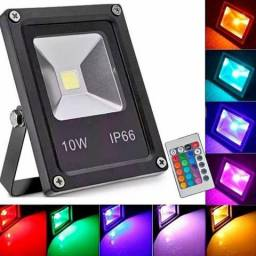 Mini refletor RGB 10 wats