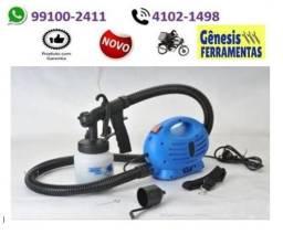 Pistola Elétrica Pulverizadora De Pintura Hlvp Compressor paint zoom - entrega grátis