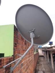 Antena Sky + 20m de cabo