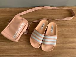 Kit sandália+ bolsa