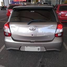 Toyota Etios na Garantia de fábrica