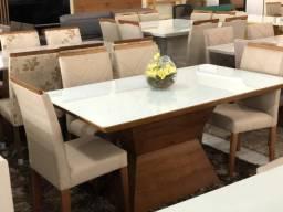 Mesa ilumina de jantar nova completa pronta entrega