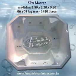 Banheiras de Hidromassagem SPA Master