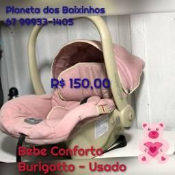 bebe Conforto Burigotto Rosa Crianca