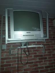 Tv gradiente com rádio