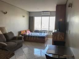 Flat para locação e venda no Plaza Inn American Loft com 1 dormitório, e 1 vaga!