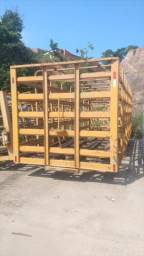 Carroceria gaiola de gás e água - 2005