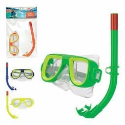Kit para Mergulho c/snorkel Infantil Pró-Mergulho